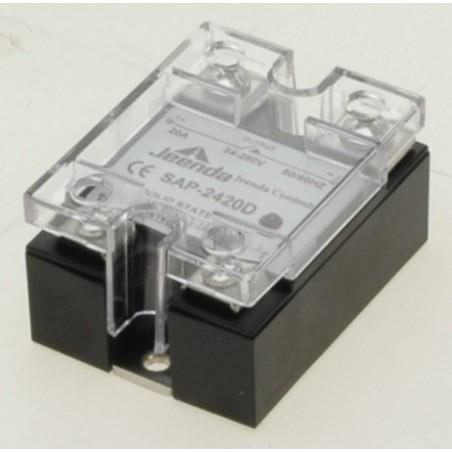Solid state relæ til styring af 24 til 280 VAC. Kan styres direkte af en TTL udgang