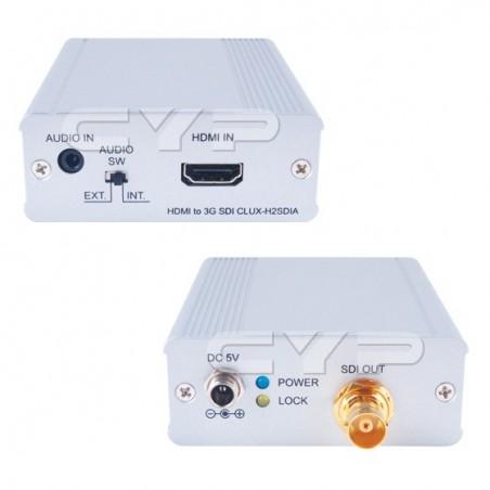 HDMI til SDI video konverter med lyd