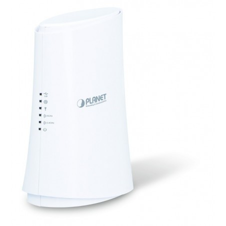 867 Mbit Dual Band WiFi Router med 4 Gigabit LAN og USB