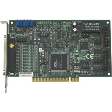 16 kanals A/D dataopsamling, 12 bit, 16 D/I og DO, PCI