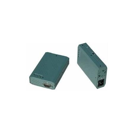 DEMOVARE: RS232 serielport via 230 VAC el-nettet
