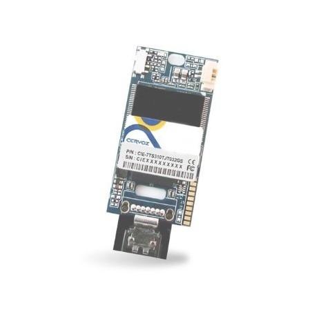 Industriflash 32GB, DOM SATA MLC XL med udvidet temperatur -40~+85°C til lodret montering