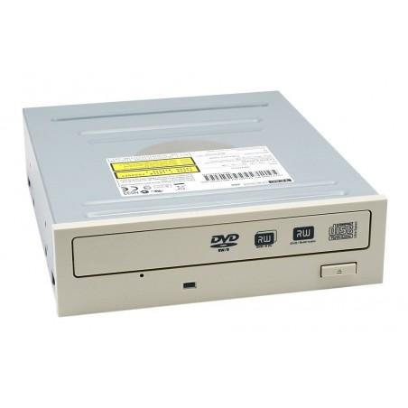 Drev, DVD brænder RW, 24 x, SATA, Beige front