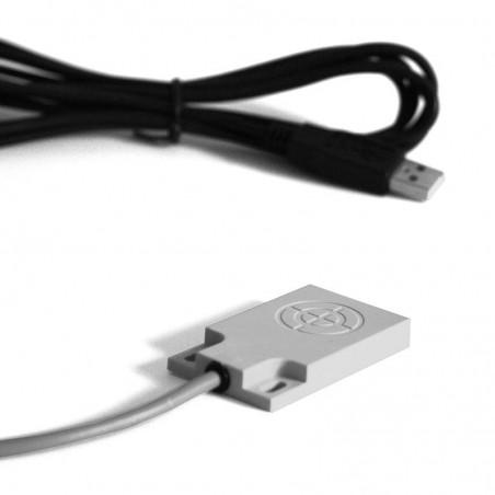 USB fodkontakt / berøringssensor med 4m kabel, IP67 tæt