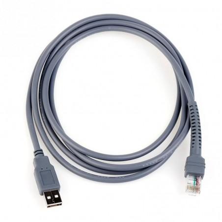 Kabel, USB2.0 type A til RJ45 han, 2 meter inderstøtter WIN8