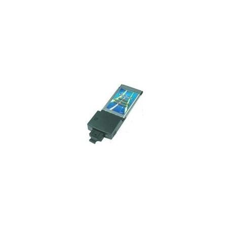 100Mbit PCMCIA netkort til SC fiber.