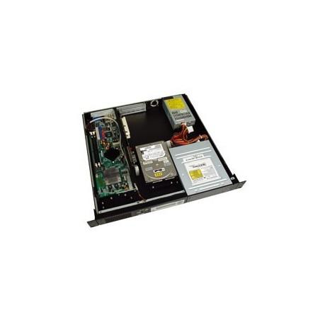 """Rest salg: Sort 19"""" 1U kabinet m.LCD"""