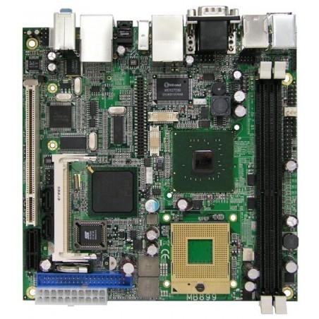 Rest salg: ITX BK, core duo, CF, 1 PCI
