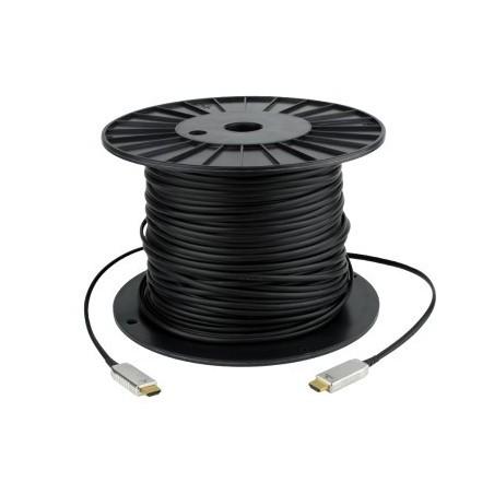 HDMI 1.4 Hybrid kabel. HDMI han - HDMI han 20 m, sort