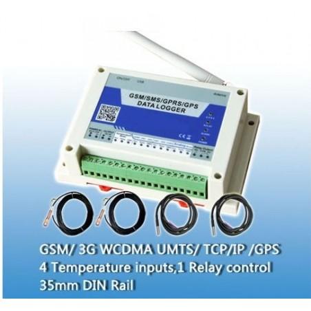 Rest salg: GSM/GPRS/GPS temp. overvågning