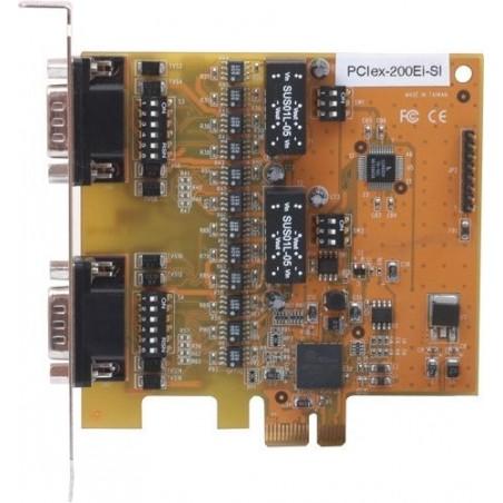 PCI Express kort med 2xRS232/422/485