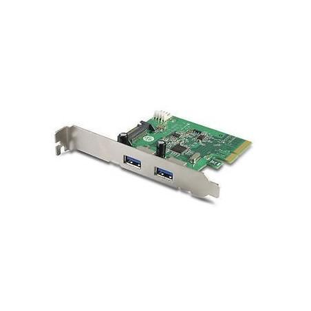 PCI Express kort med 2 x USB-A 3.1
