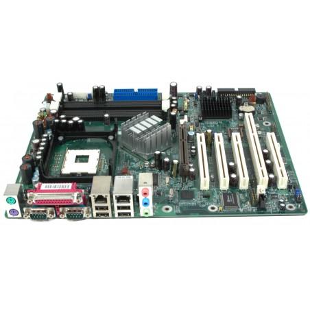 DFI G4H875-N P4 bundkort med PCI-X slot, FSB800 OS support XP, DOS, NT NEW!