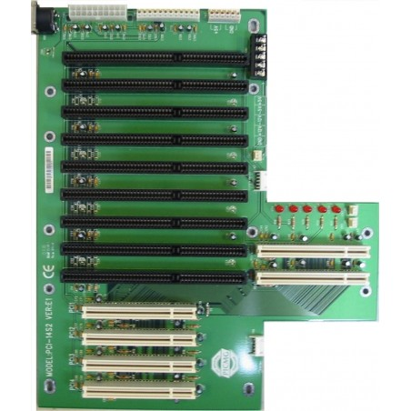 14-slot backplane with 4 PCI slots and 8 ISA slots
