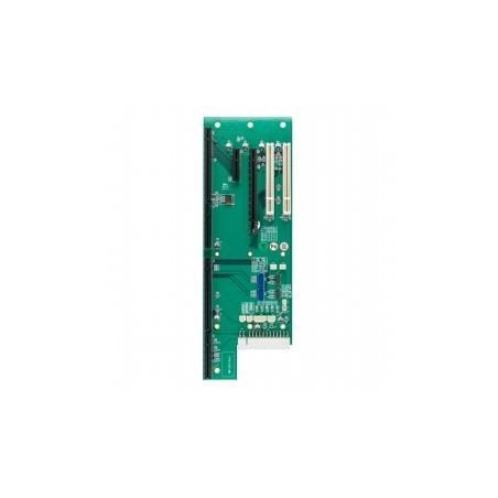 Backplane, 5 slots (PICMG 1.3 x 1, PCIe‐16 x 1, PCIe‐4 x 1, 32 bit PCI x 2), SATA x 2, USB 2.0 x 4.