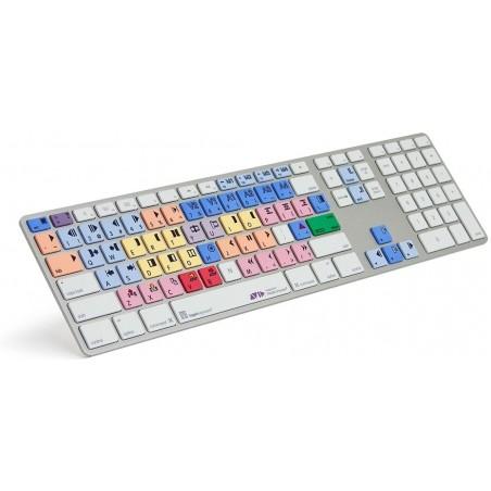 MAC USB tastatur i multifarver med US tegn