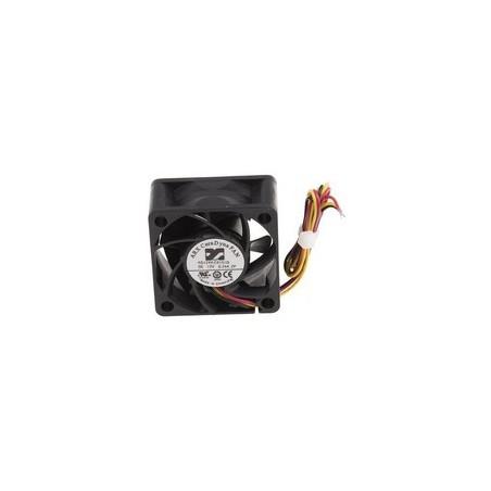 12V DC vifte/fan 40 x 40 x 20mm, 2,04W
