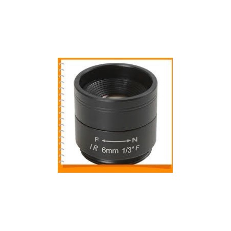 Restlager: 6mm megapixel linse