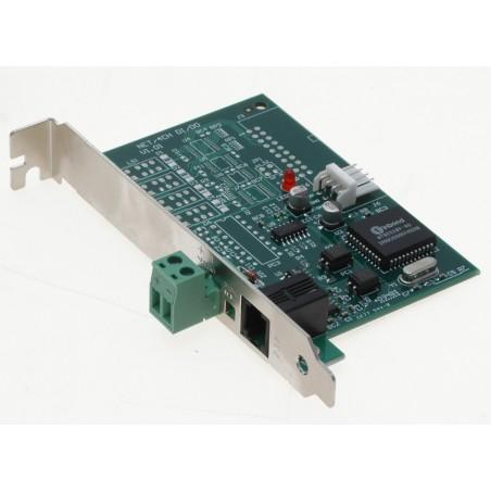 Geovision RS232 til RS485 adaptorkort med DB9 stik og medfølgende kabler