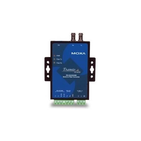 Moxa RS232/422/485 til fiber konverter, multimode, ST