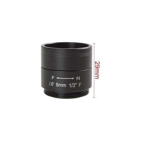 Restlager: 8mm megapixel linse