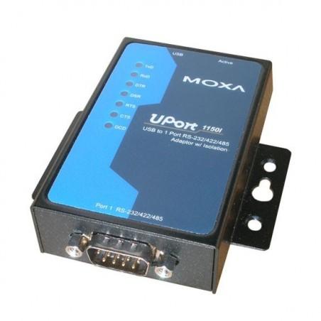 USB til 1x RS232/422/485 konverter, MOXA UPORT 1150I