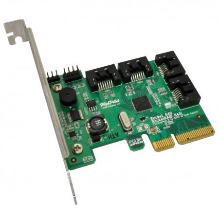 RAID controller PCI Express x 4 RAID RAIDROCKETRAID 640L
