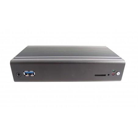 Blæserløs BOX PC med BayTrail Atom E3825 processor. Wide Temp.–20°C to 70°C