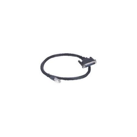 Restlager: RJ45 kabel til DB25 hun, 1,5 meter