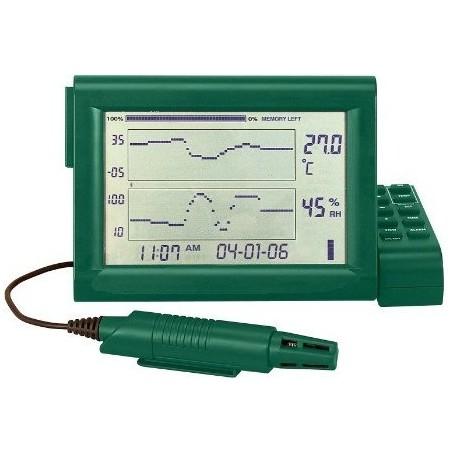 Luftfugtighedsmåler (hygrometer) 10% - 95% rh.