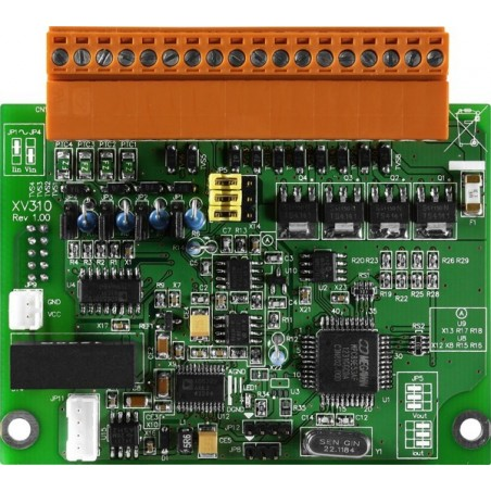 4 single-ended analog indgange Udvidelsesmodul til L-CON-LOG+ serien