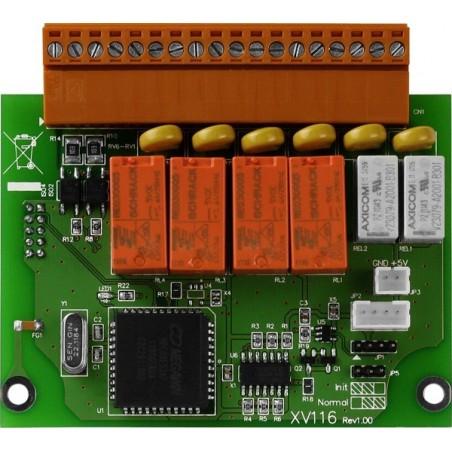 5 digitale ind- og 6 udgange Udvidelsesmoduler til L-CON-LOG+ serien