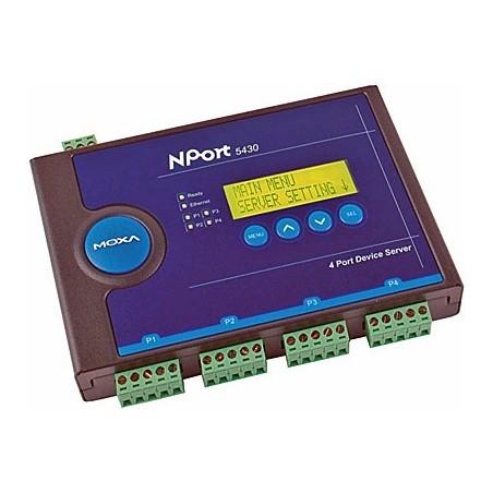 Nport5430 NP5430 MOXA 4 port RS422 485 serial port server