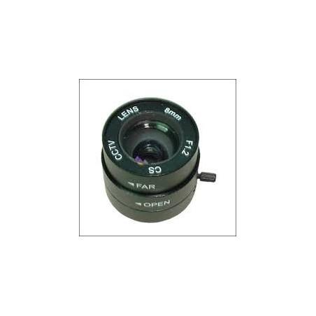 Restlager: 8mm linse,CS-type,autoblænde