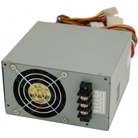Restlager: -48V - +72 v DC, PC spændingsorsyning