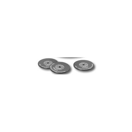 RFID tag 50mm diameter 2.5mm sort. Tilbehør til RFID-TID-T