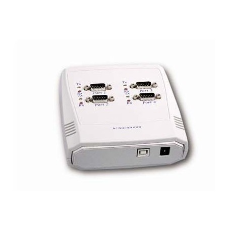 Restlager: converter, USB til 4 x RS232/485