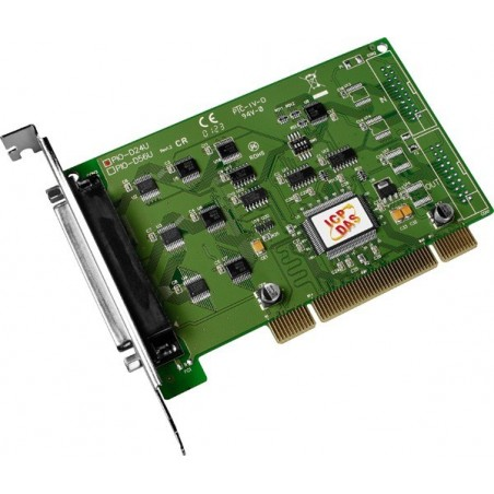 24 kanals Digital I/O DAQ kort, PCI