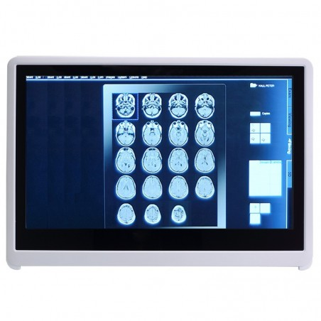 "24"" Medical godkendt Panel PC, i3/i5/i7 CPU, multi-touch, Scanner, Wifi"