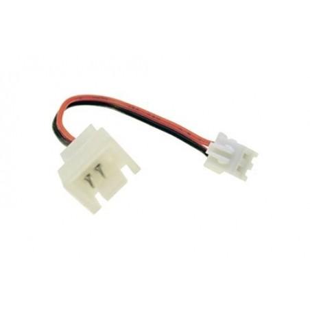 3 pin til 2 pin D vifte adapter kabel, 5 cm