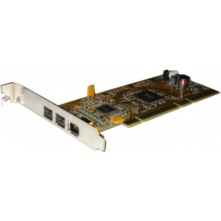 IEEE 1394b FireWire interface, 64-bit PCI