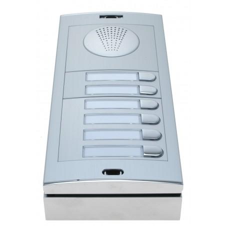 Rest salg: GSM- Dørtelefon, 6 knapper