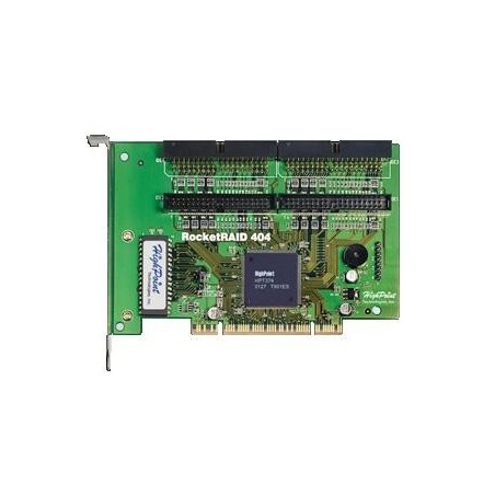 RocketRaid 404, 4 Channel PCI IDE RAID Controller