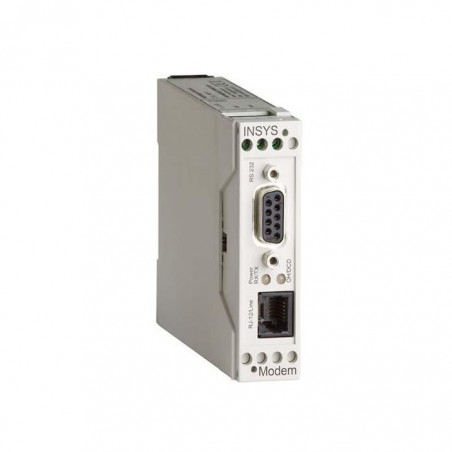 INSYS 56K Modem med RS232 interface