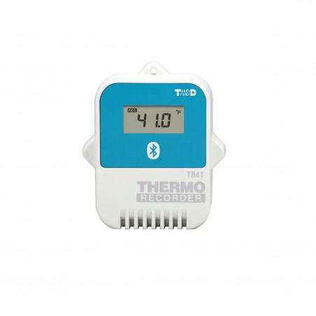 T&D Temperaturlogger med Bluetooth og intern føler