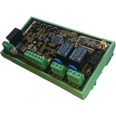 2 kanals trådløst radiomodul til overførsel af digitale signaler