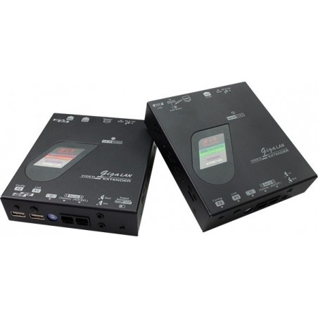 NVKMU-M42 (POE), 4K2K HDMI + USB + Serial extender over Giga Lan (POE)