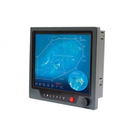 """19"""", IP65, 1000 nits, marine godkendt panel moniter med resistive touch support"""