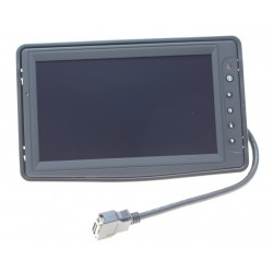 "8"" LED High Bright TFT skærm, 500 cd/m2/nits, -30- +85℃, Touch screen (USB Interface),1 X VGA, 3 X Video"