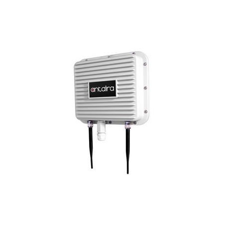 Industriel udendørs Wifi, Access Point, Client, Bridge, Repeater, 2,4GHz, IP67 alu, PoE, mastebeslag